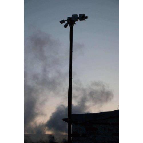 Камера наблюдения на мачте