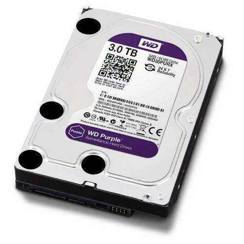 Жесткий диск Western Digital Purple 3Tb