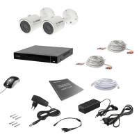 Комплект видеонаблюдения Tecsar AHD 2OUT 8MEGA