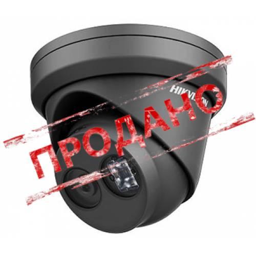 DS-2CD2343G0-I (2.8 мм) черная 4Мп IP видеокамера Hikvision с Exir посветкой