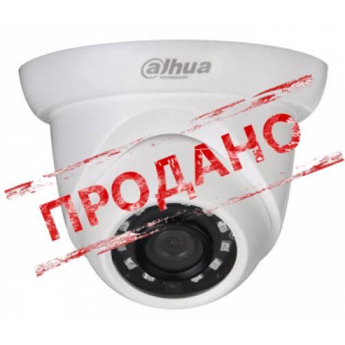 IPC-T1A20P (2.8 мм) 2 Mп IP видеокамера Dahua