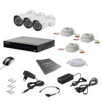 Комплект видеонаблюдения Tecsar AHD 3OUT 2MEGA