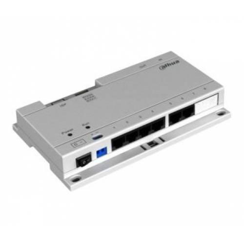 DH-VTNS1060A Passive PoE коммутатор для домофонов Dahua