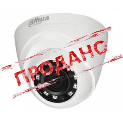 DH-HAC-HDW1000RP-S3 (2.8 мм) 1 МП 720p HDCVI видеокамера