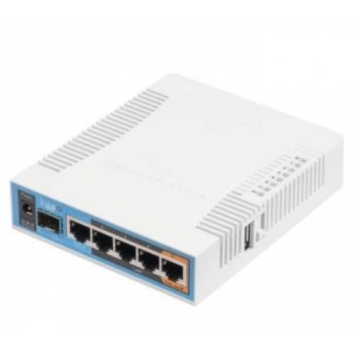 RB962UiGS-5HacT2HnT Двухдиапазонная Wi-Fi точка доступа с 5-портами Ethernet для домашнего использования