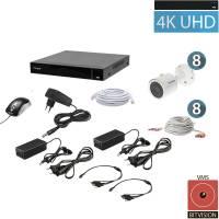 Комплект видеонаблюдения Tecsar QHD 8MP8CAM