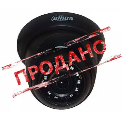 DH-HAC-HDW1200RP-BE (2.8 мм) 2 Мп HDCVI видеокамера