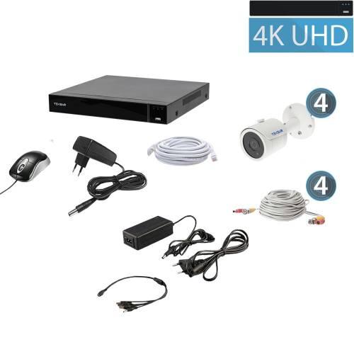 Комплект видеонаблюдения Tecsar QHD 8MP4CAM