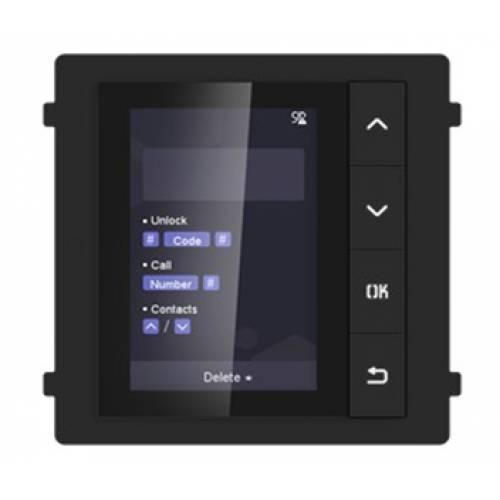 DS-KD-DIS Модуль с монитором видеодомофона