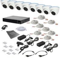 Комплект видеонаблюдения Tecsar AHD 8IN 2MEGA