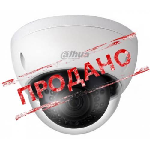 DH-IPC-HDBW1431EP-S (2.8 мм) 4 Mп мини-купольная IP видеокамера Dahua