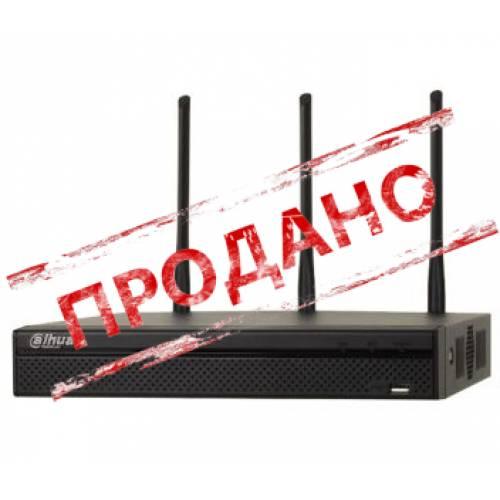 DH-NVR4104HS-W-S2 (wi-fi) 4-канальный сетевой видеорегистратор